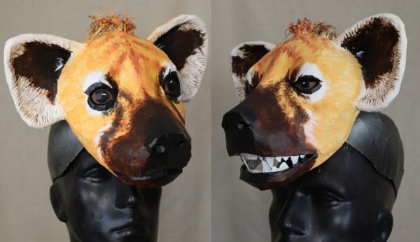 My New Hyena Mask Pattern