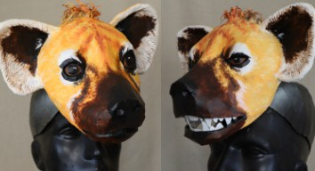 Paint your hyena masks