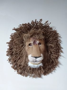 Lion Head with Jute Mane