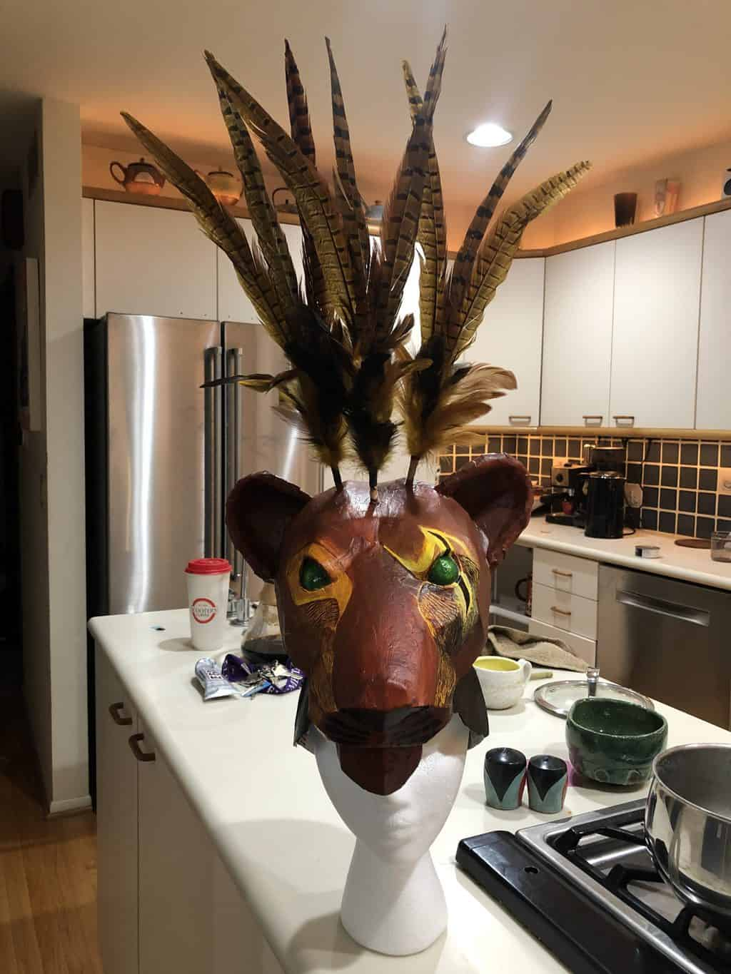 Lion King Mask
