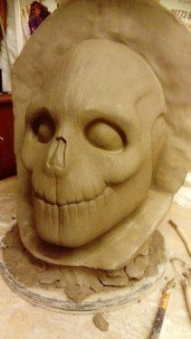 Baron Samdi clay model