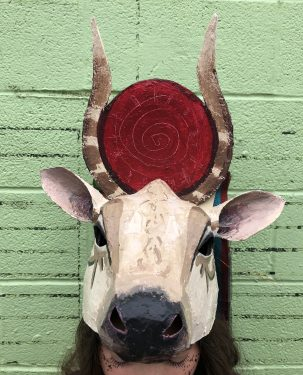 Cow Goddes Headpiece