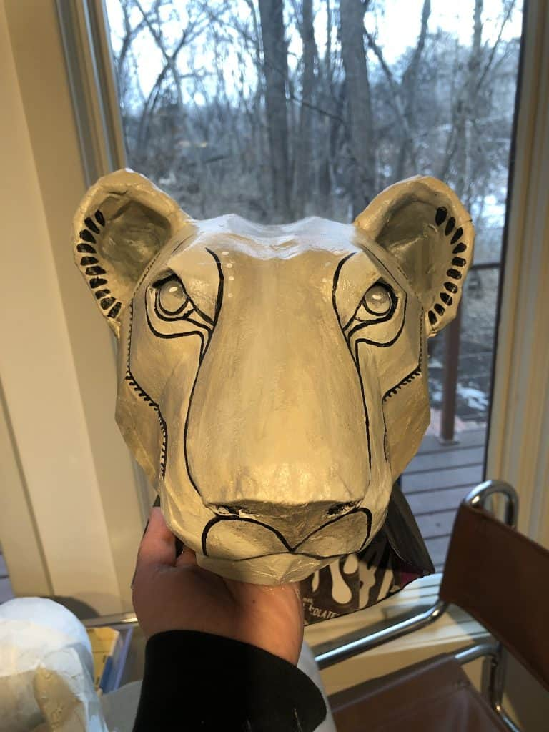 Nala Lion King Mask