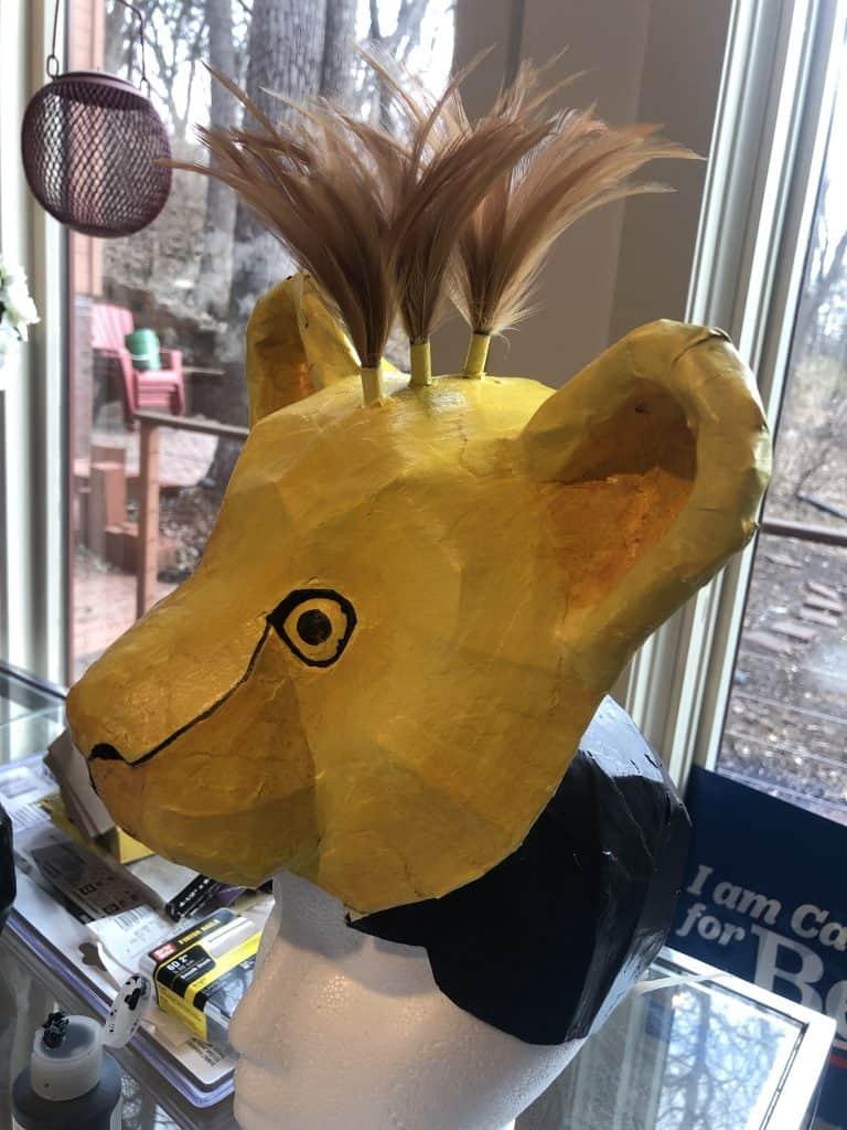 Baby Simba Lion King Mask