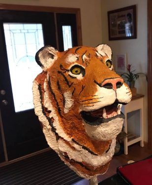 Pia Blackwell's Tiger Sculpture