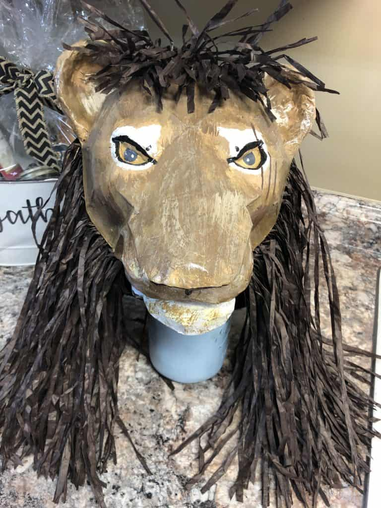 Scar Lion King Mask