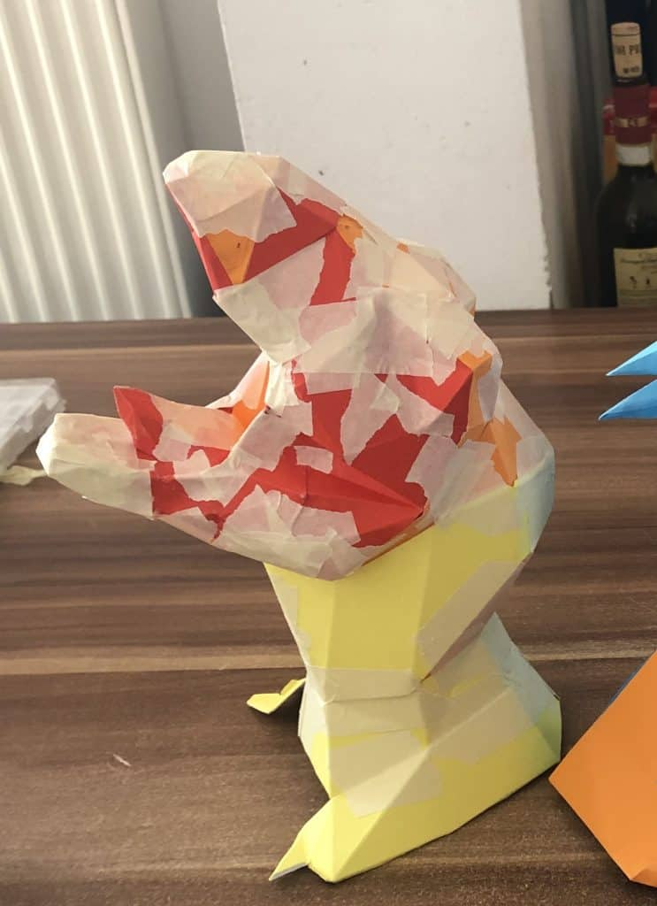 Origami T-Rex - Video and Diagrams - Jo Nakashima | 1024x743