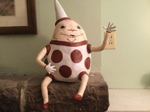 Paper Mache Humpty Dumpty