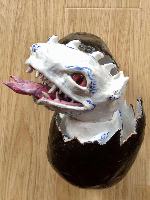 White Dragon Head
