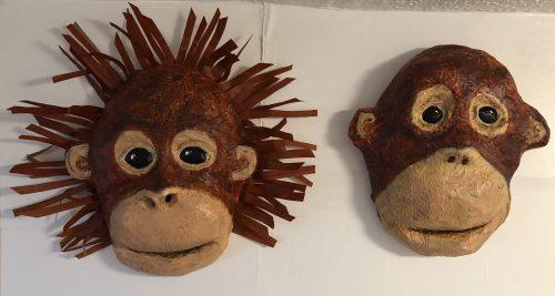 baby orangutan masks