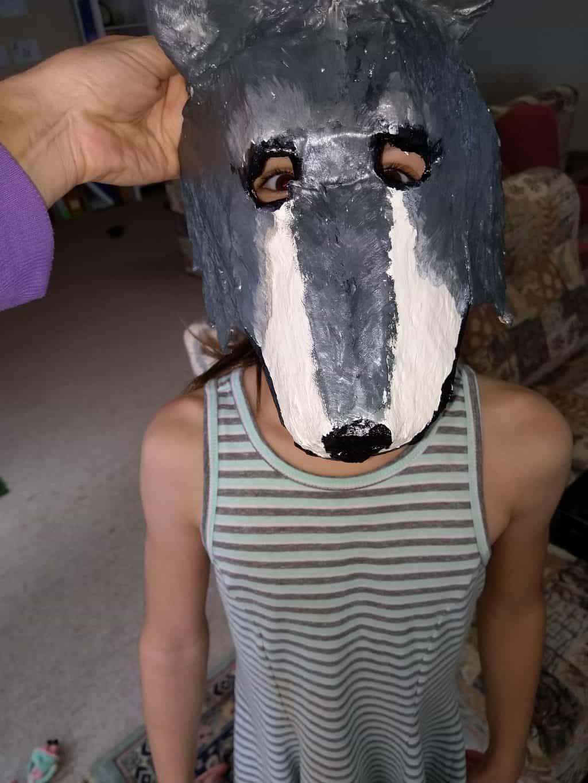 Dual-Purpose Wolf Mask