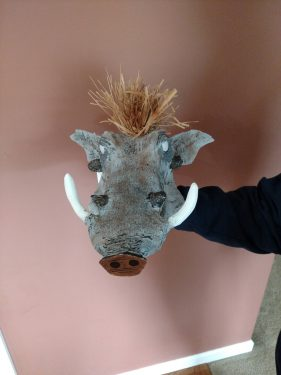 Pumbaa mask