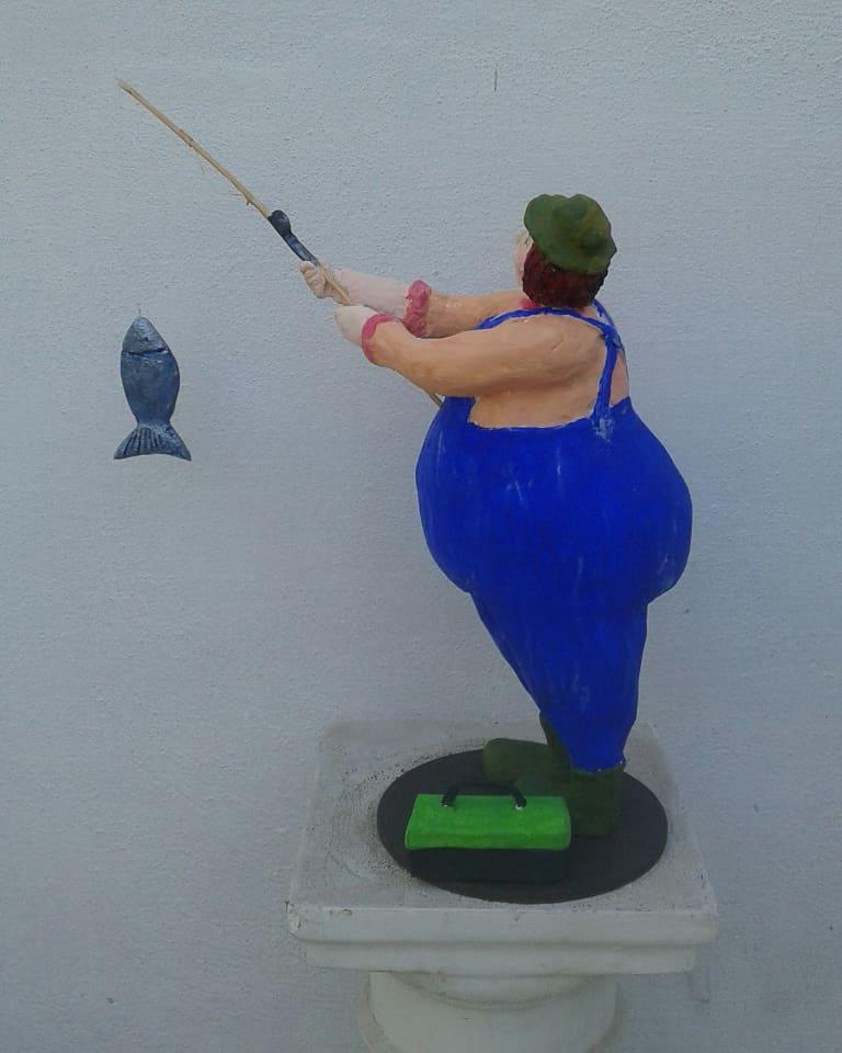Mi Gorda se fue a pescar1