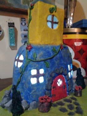 Serenity Fairy House/Night Light