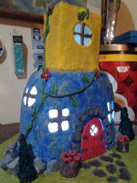 Serenity Fairy House/Night Light