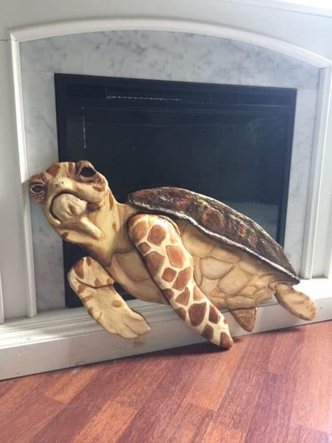 Tilly the Sea Turtle Sculpture
