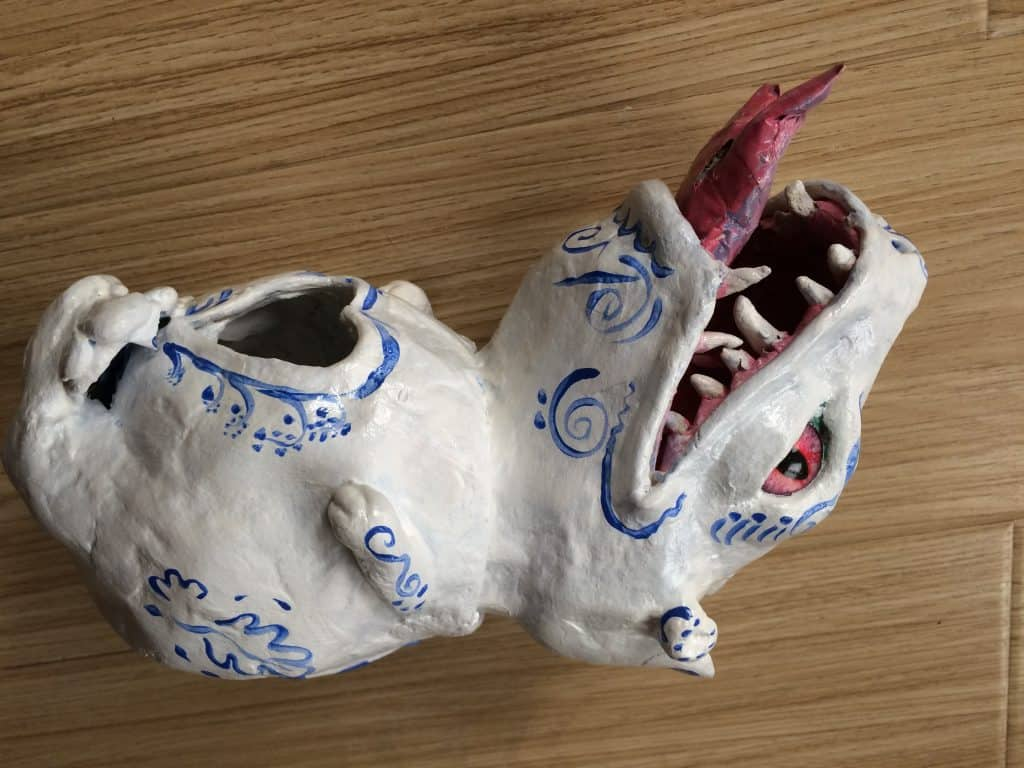 White Dragon Head 2