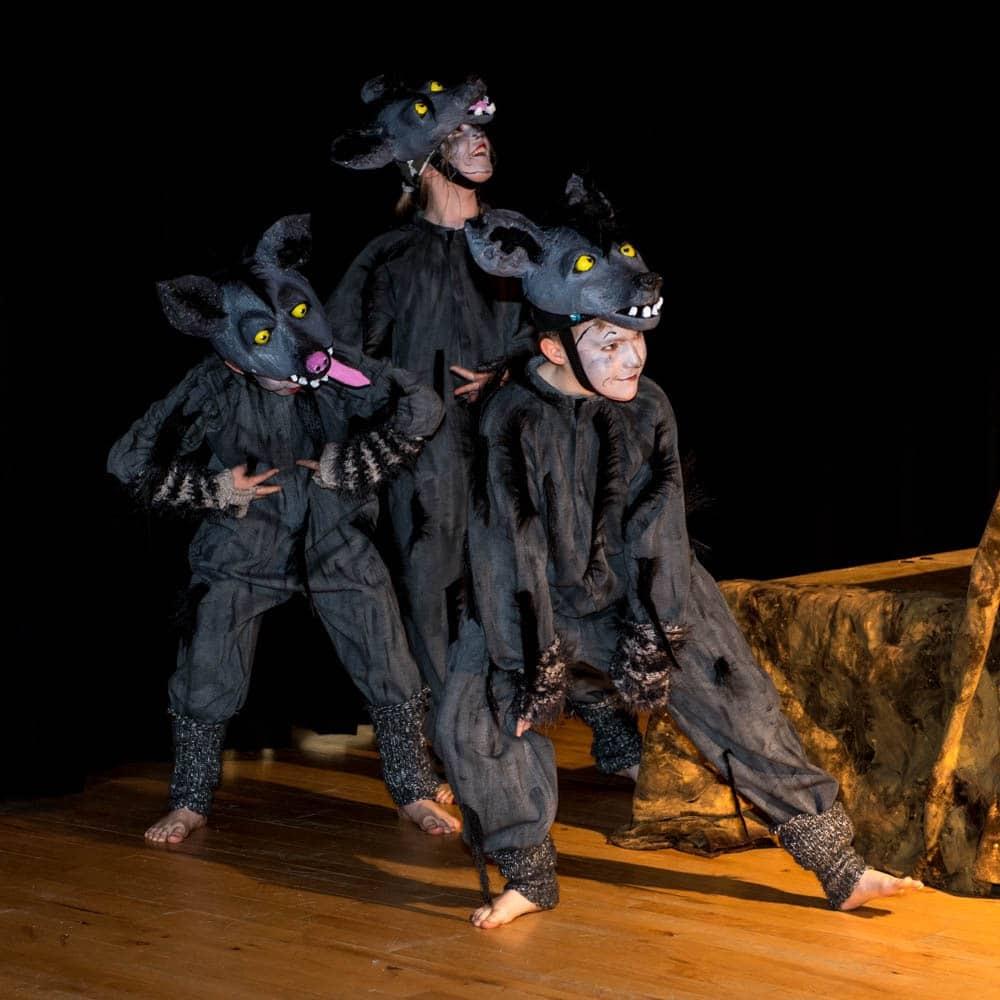 Hyena costumes