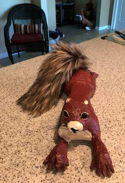 Norton the squirrel