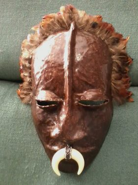 African-inspired mask