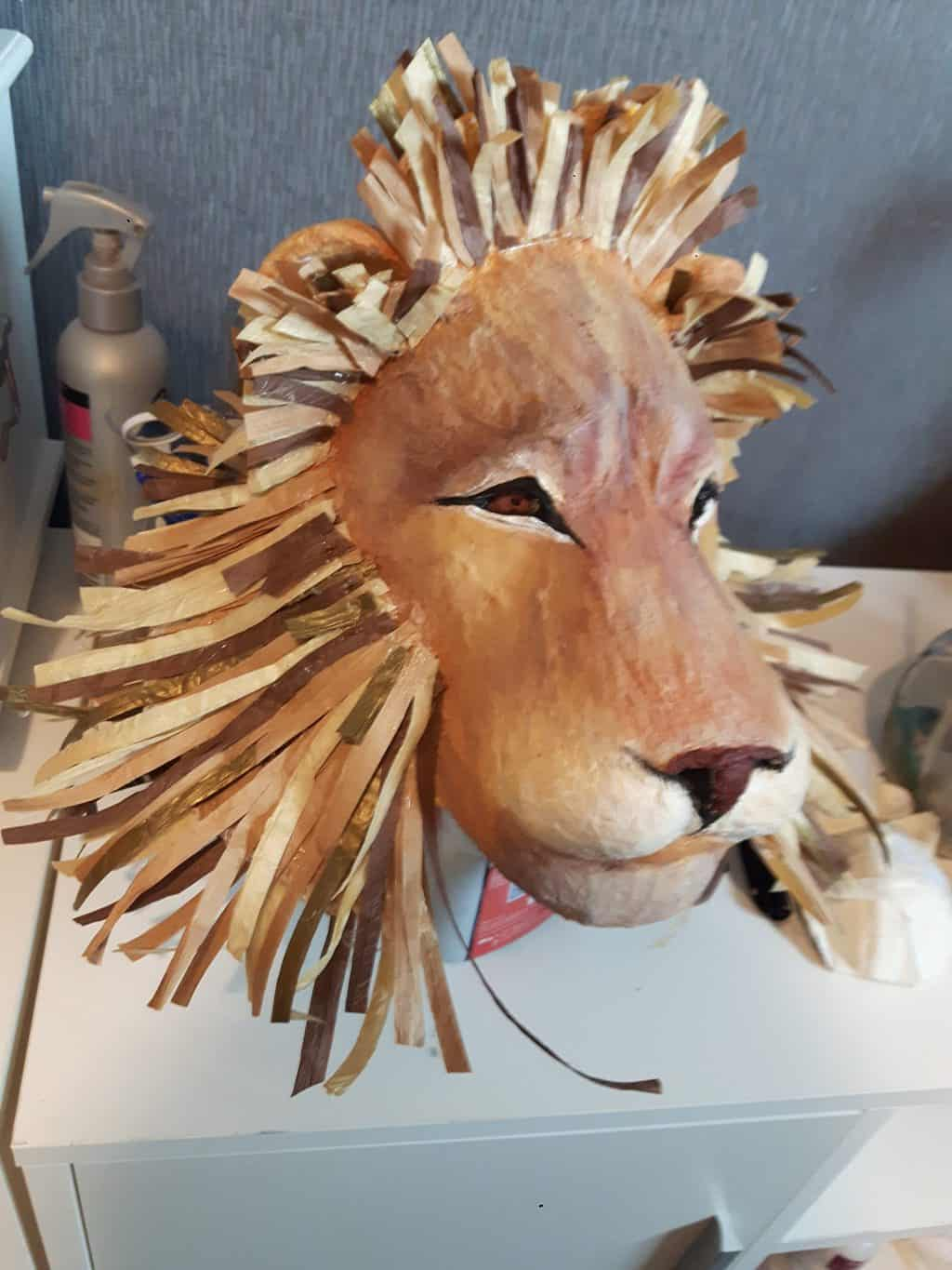 Lion Mask by Cherie