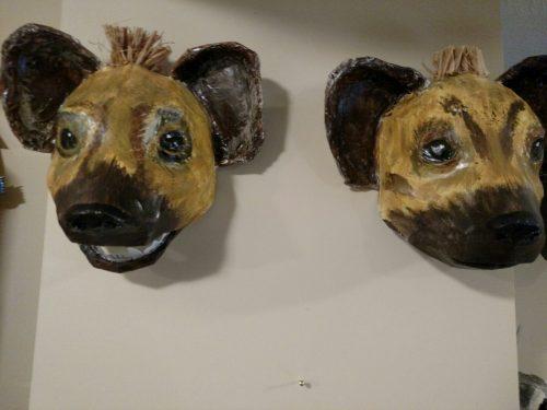 Hyena Masks