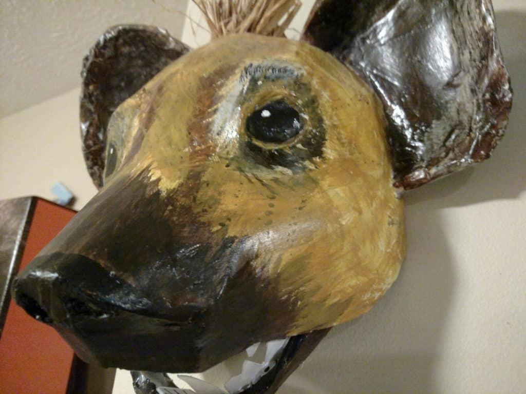 Hyena mask