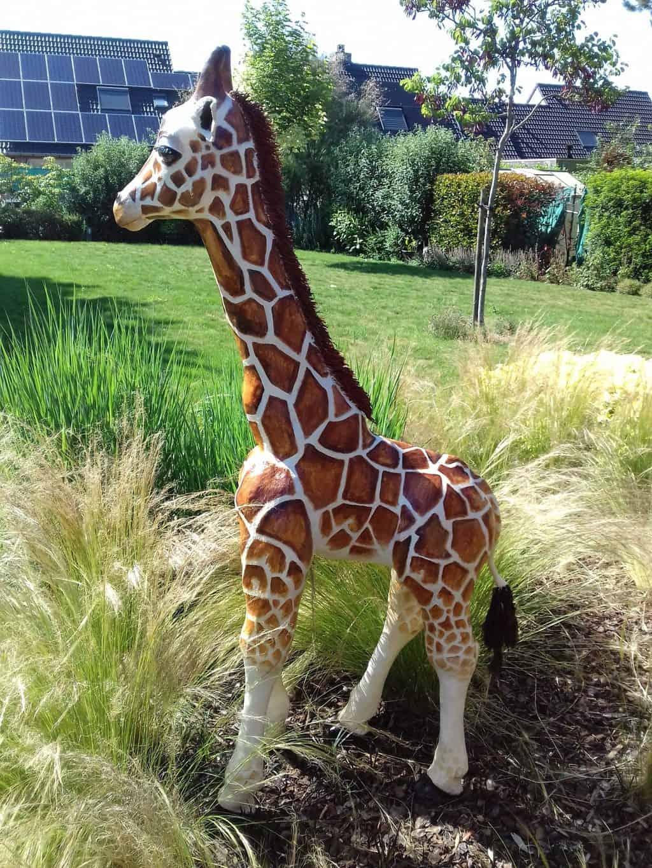 Giraffe Wabi-Sabi