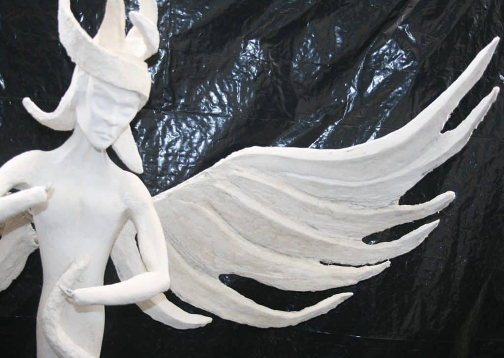 Archangel Michael's Wings, Step 2