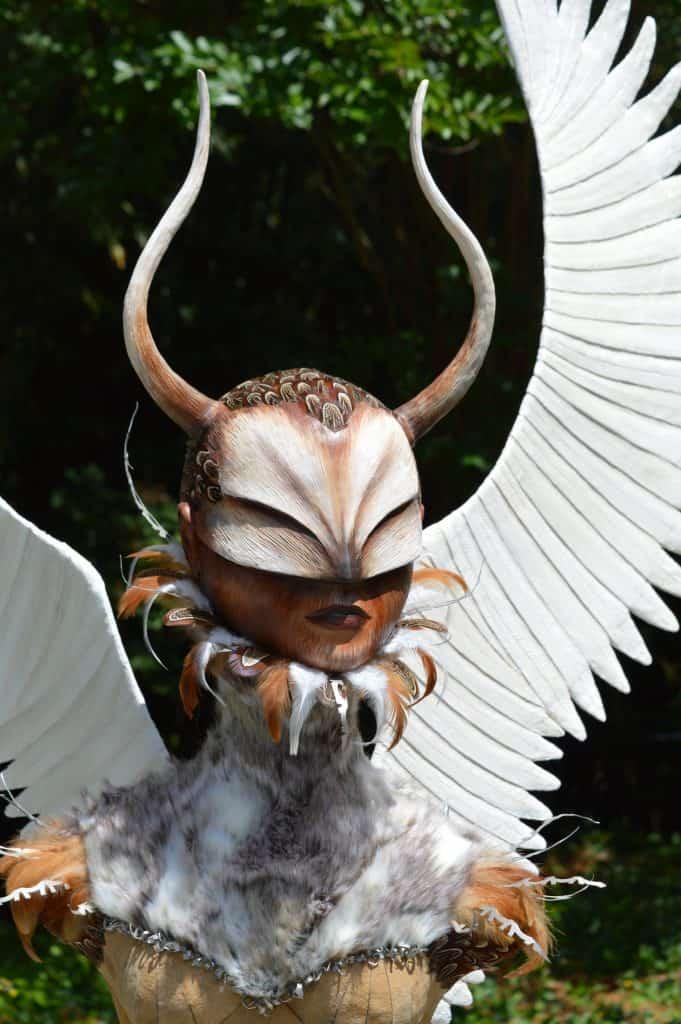 Winged Warrior Head