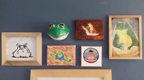 Frog Wall
