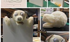 Paper Mache - Dog Lover's Photo Frame Keepsake