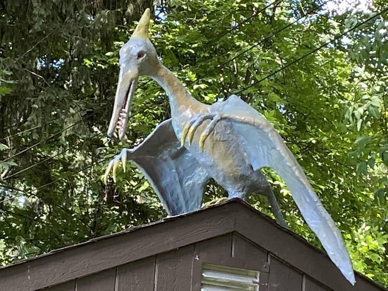 Pterodactyl Garden Sculpture