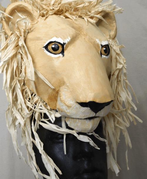 Simba or Mustaffa mask