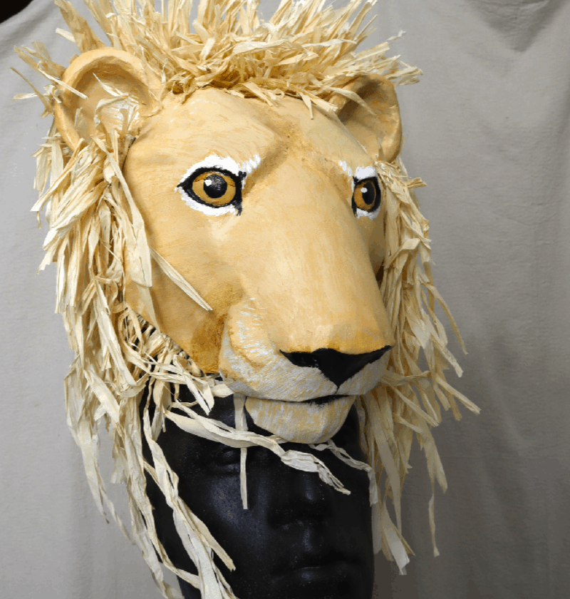Mufassa or Simba Lion King Headdress Pattern