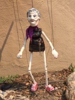 silver haired marionette