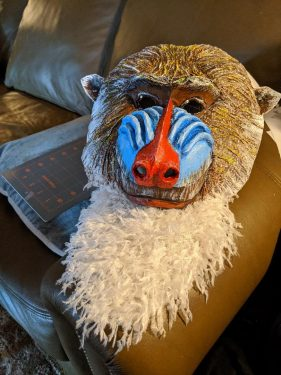 Mandrill Mask