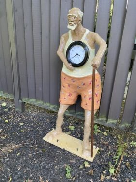 Outdoor grandfather clock