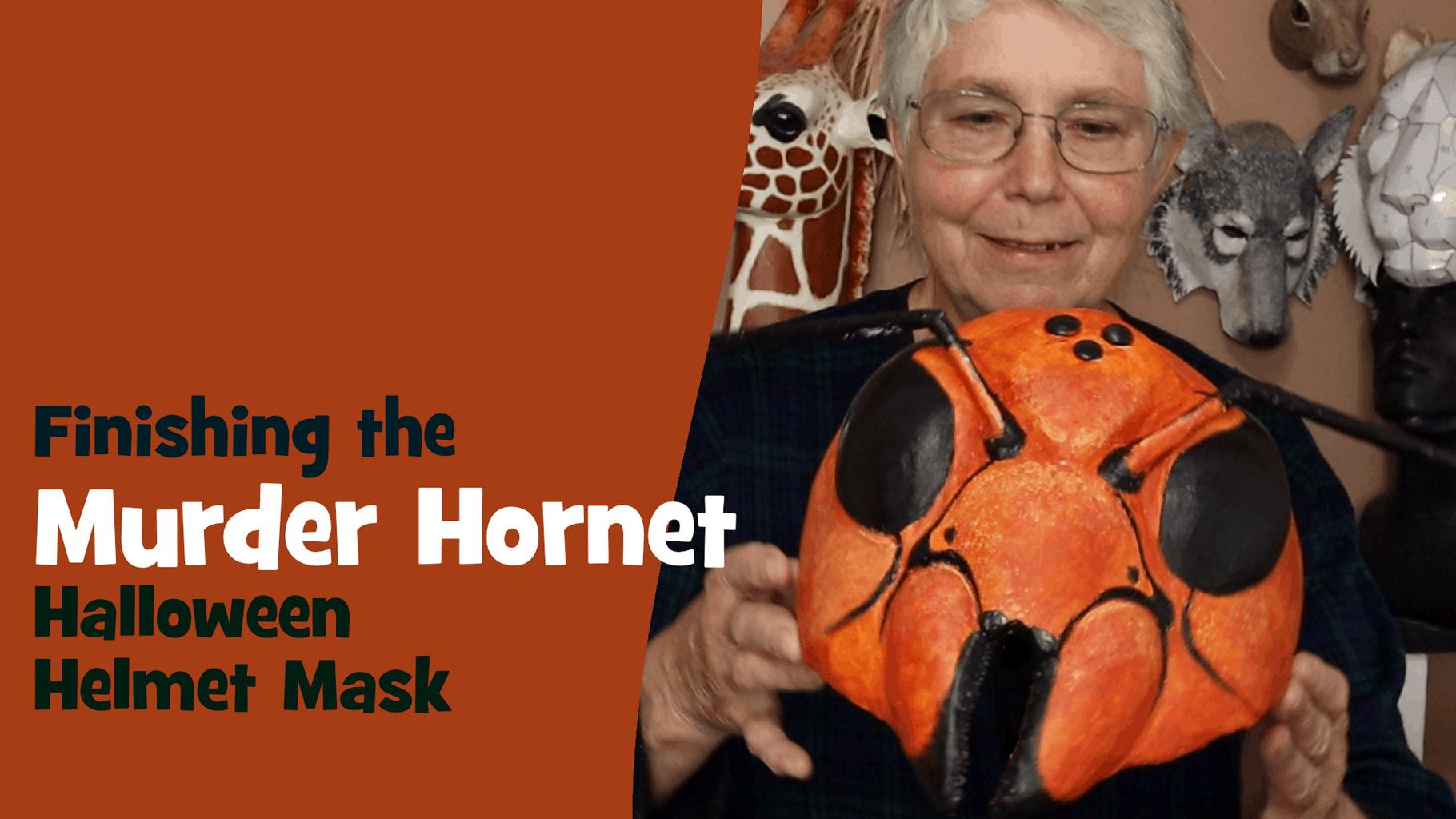 Murder Hornet Halloween Helmet Mask