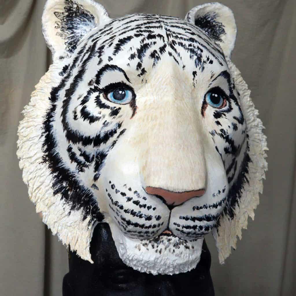 Pattern for Tiger mask