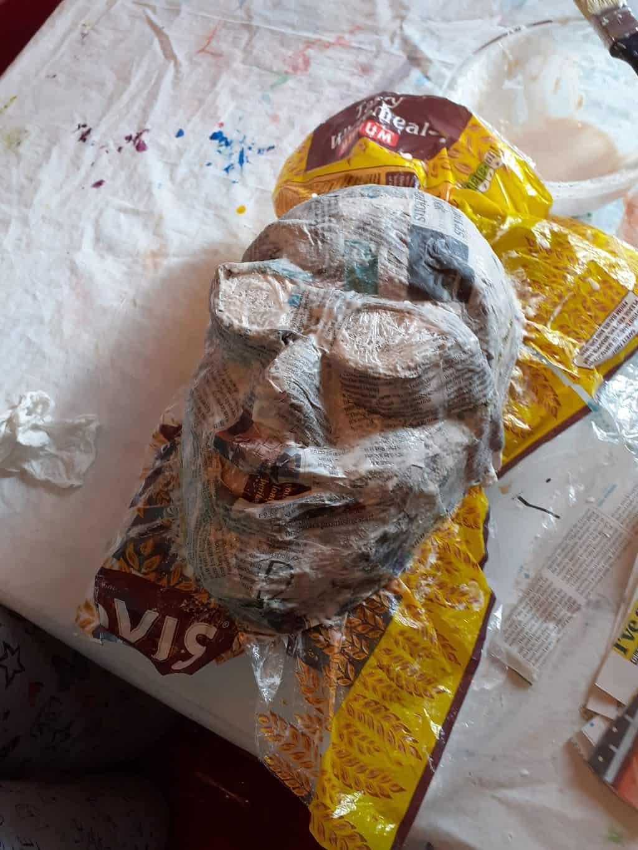 Building Julias naiad mask