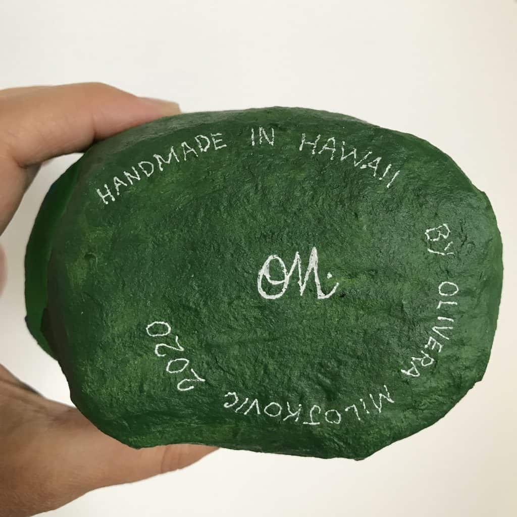 Hawaiian mountains by Olivera Milojkovic
