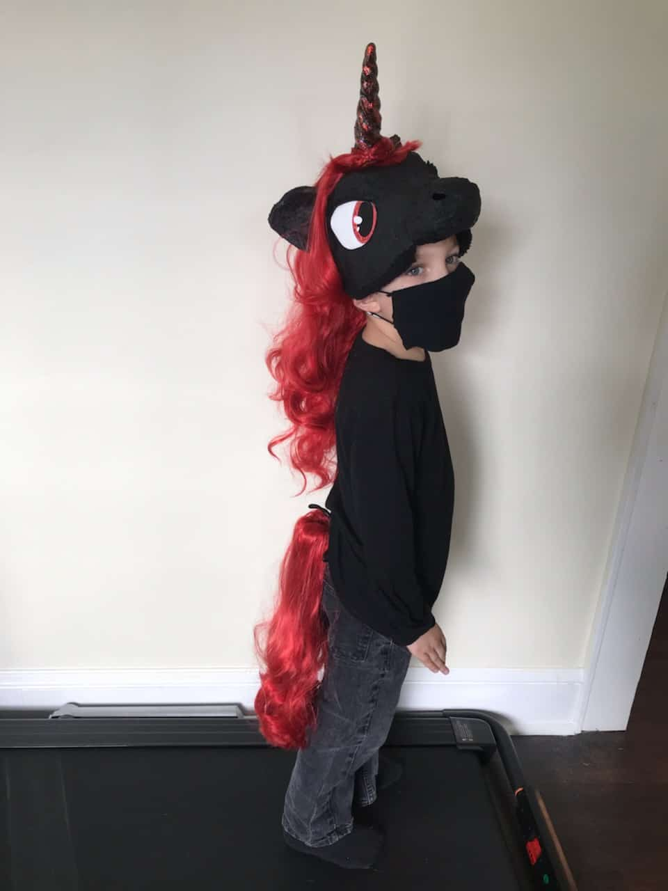 My Little Pony costume mask