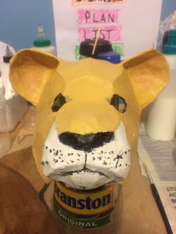 Simba mask