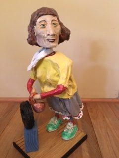 bobble head sculpture