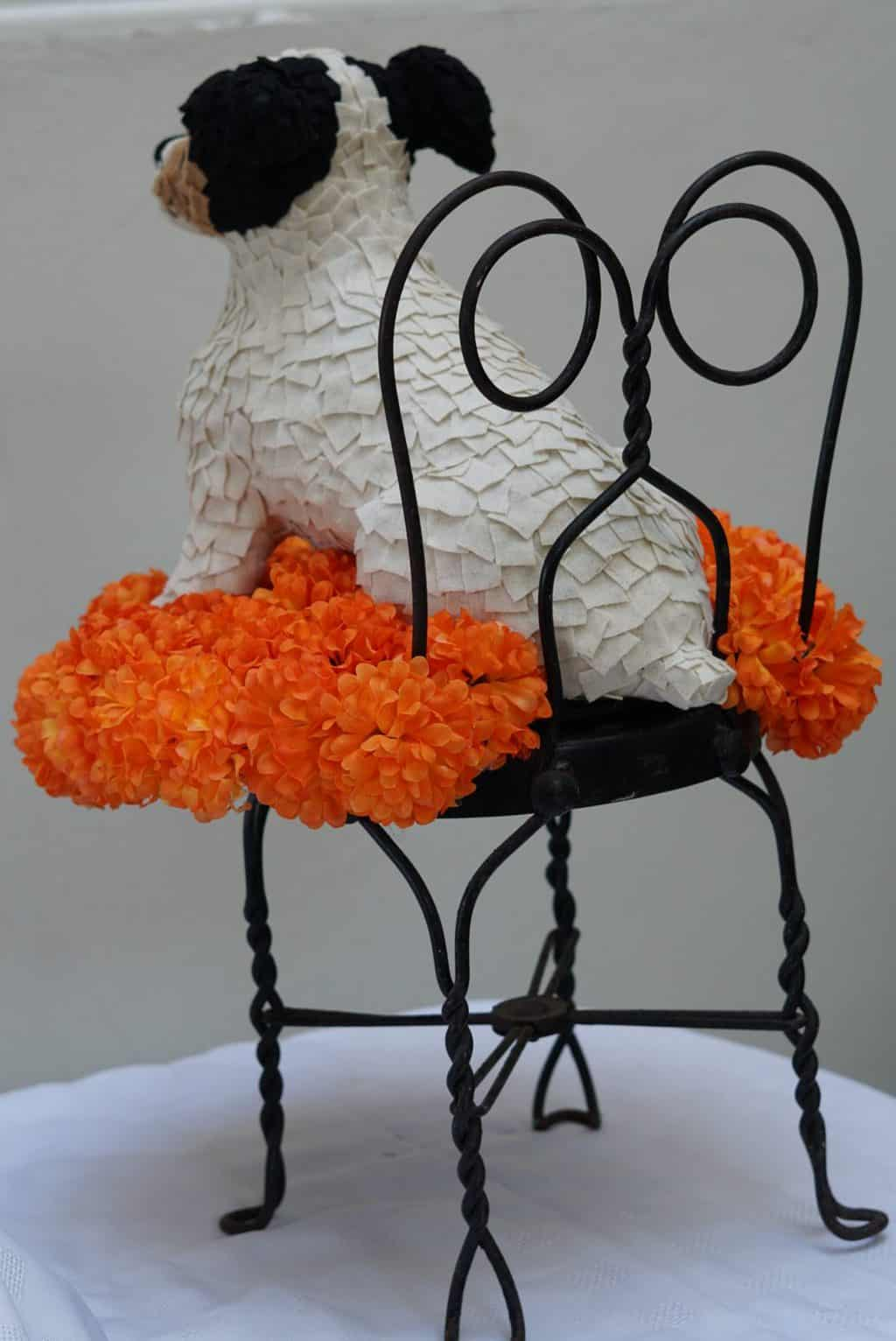 Fabric and felt Jack Russel