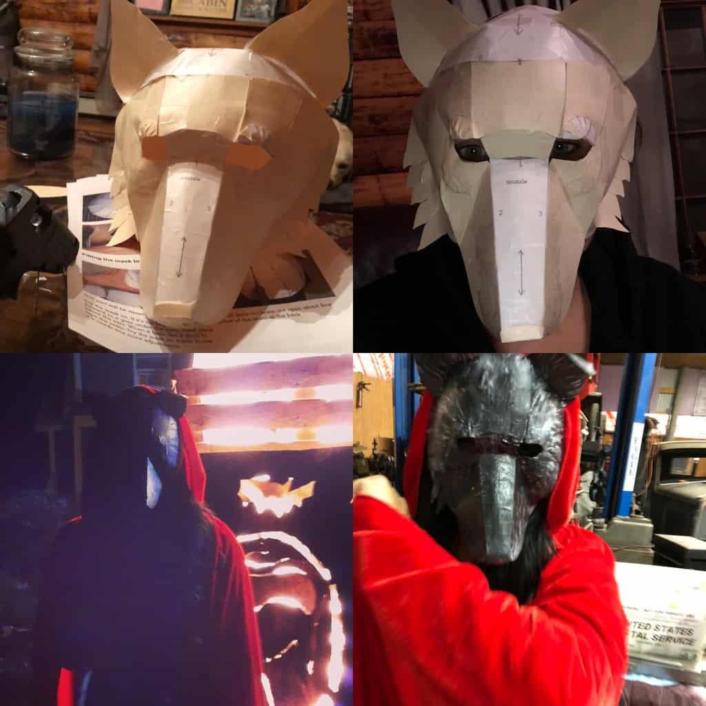 Big Bad Wolf Masks