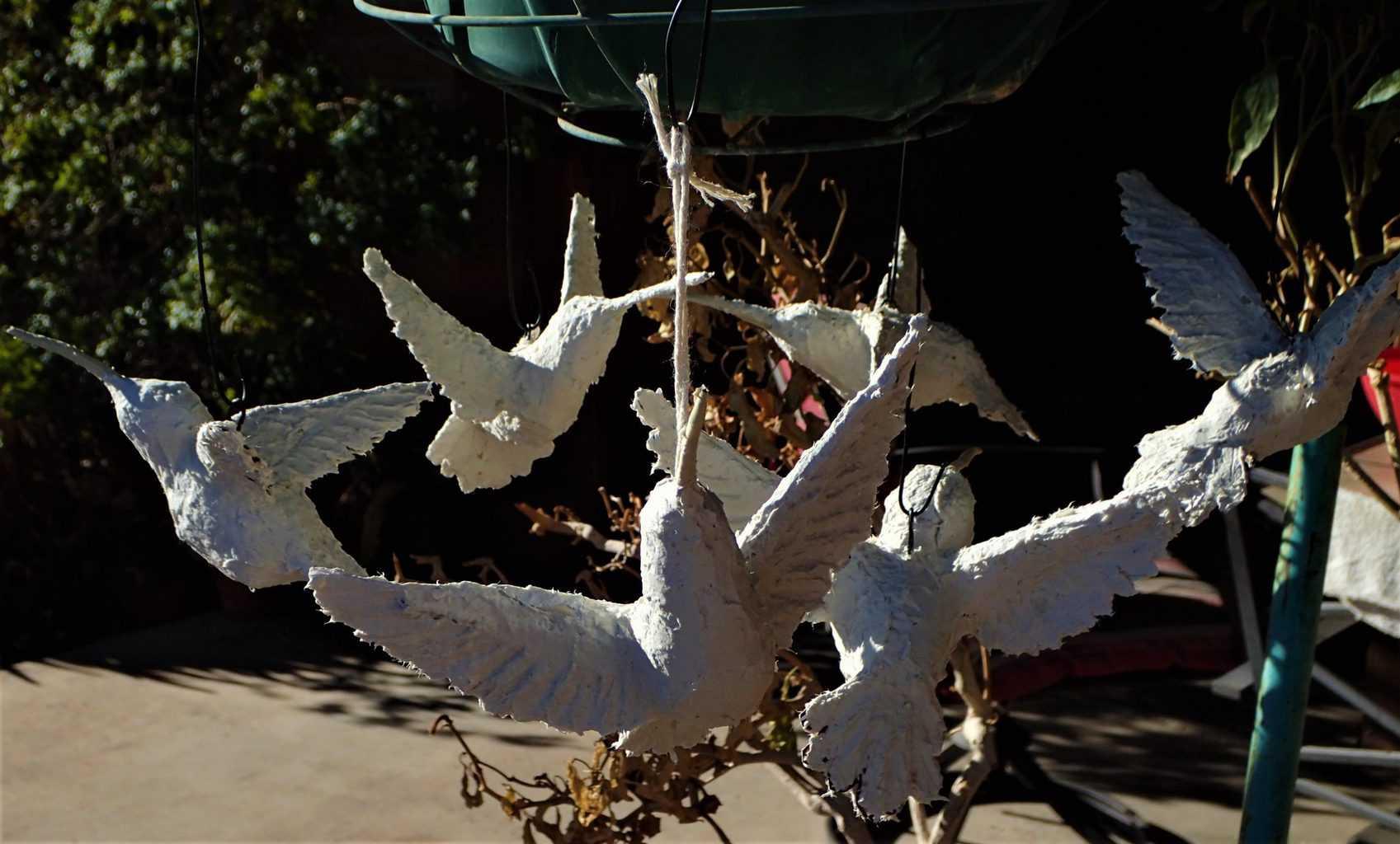 Hummingbird ornaments