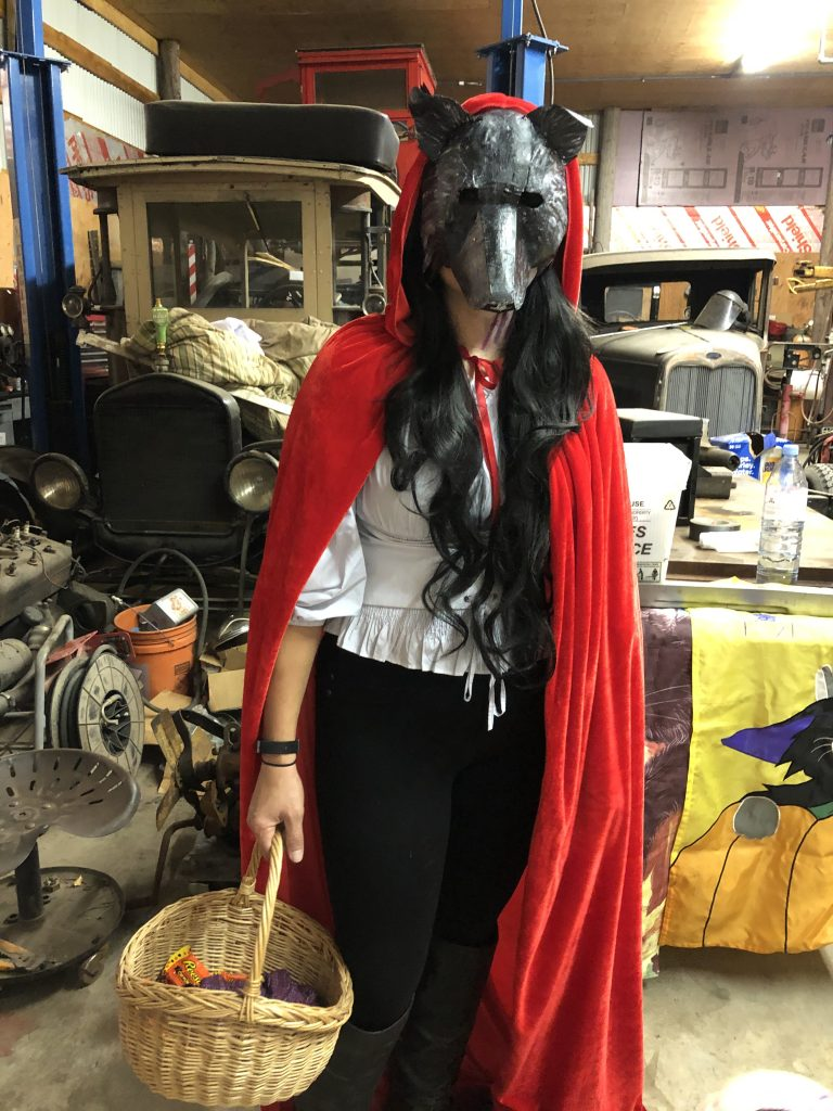 Big Bad Wolf and Red Riding Hood Mask