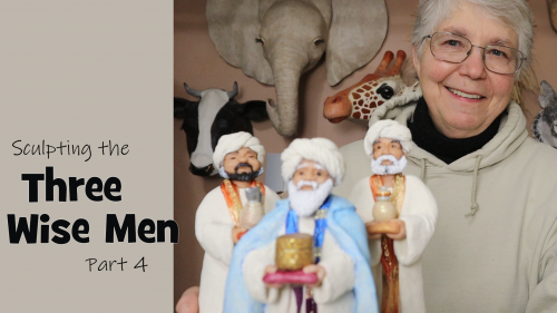 Sculpt the Three Wise Men Part 4